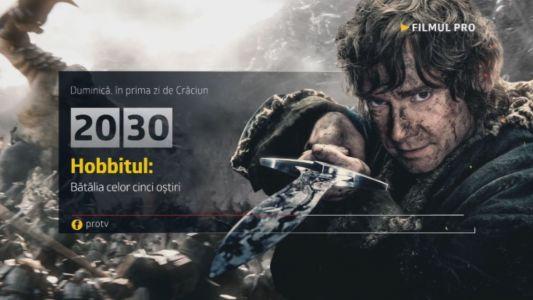 Hobbitul: Batalia Celor Cinci Ostiri, Duminica, 25 decembrie, numai la ProTV