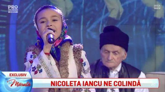 Nicoleta Iancu ne colinda