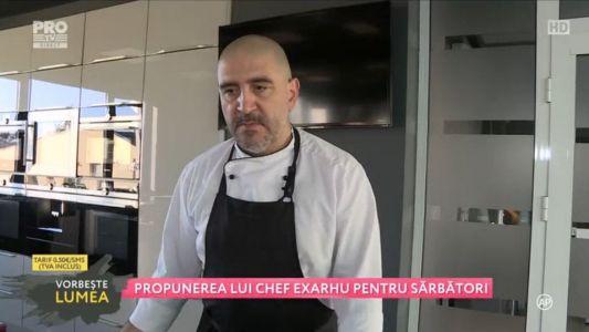 Propunerea lui Chef Exarhu pentru sarbatori