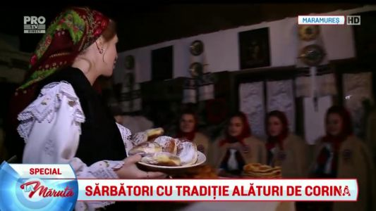 Sarbatori cu traditie alaturi de Corina