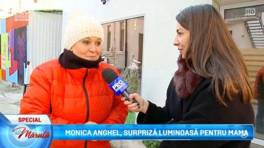 Monica Anghel, surpriza luminoasa pentru mama