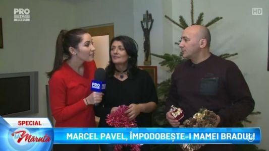 Marcel Pavel, impodopeste-i mamei bradul!