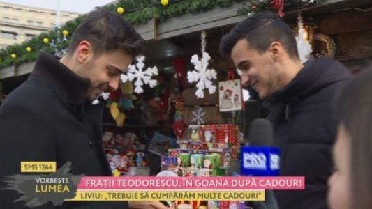 Fratii Teodorescu, in goana dupa cadouri