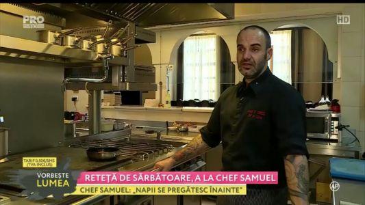 Reteta de sarbatoare a la Chef Samuel