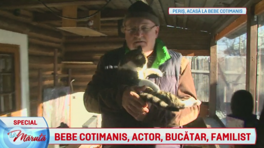 Bebe Cotimanis, actor, bucatar si familist