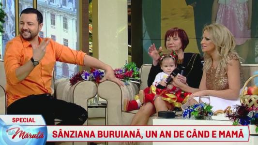 Sanziana Buruiana, un an de cand e mama