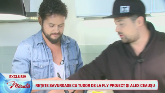 Reteta savuroasa cu Tudor de la Fly Project si Alex Ceausu