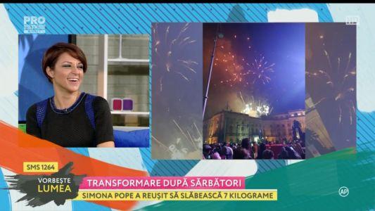 Simona Pope, transformare dupa Sarbatori