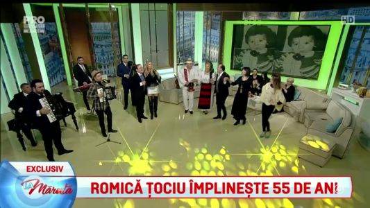 Romica Tociu implineste 55 de ani