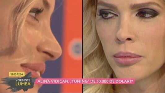 """Alina Vidican, """"tunning"""" de 50 000 de dolari?"""