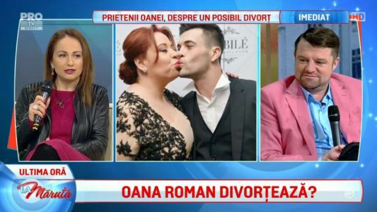 Prietenii Oanei, despre un posibil divort