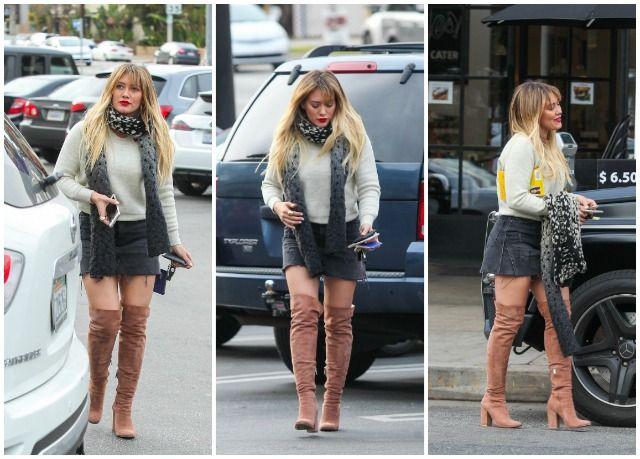 Hilary Duff, sexy si stilata pe strazile din Los Angeles. Cum a impresionat vedeta intr-o zi normala din viata ei