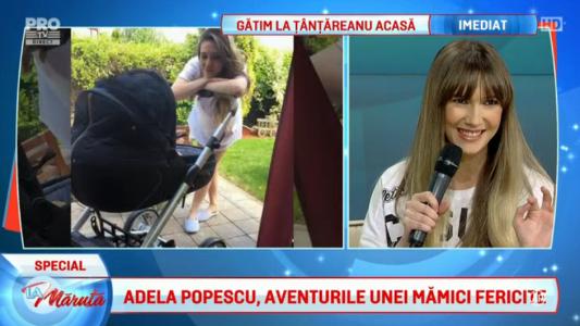 Adela Popescu, jurnalul unei mamici fericite