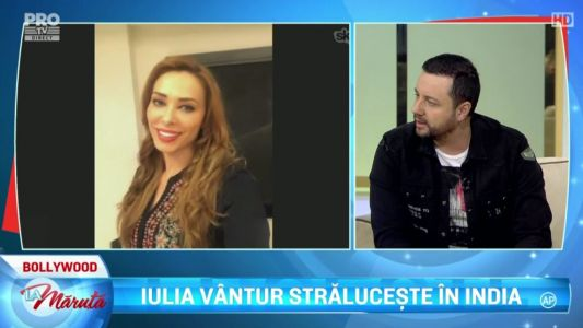 Iulia Vantur, in direct de la Bollywood