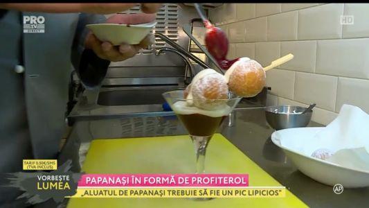 Chef Sissoko ne ofera o reteta delicioasa: papanasi in forma de profiterol