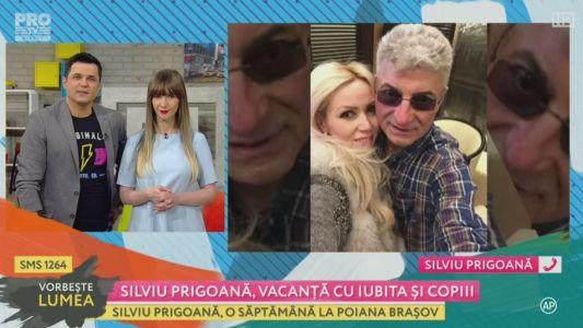 Silviu Prigoana, vacanta cu iubita si copiii
