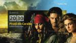 """Filme de weekend: """"Las Fierbinti"""", sambata, """"Piratii din Caraibe - Cufarul omului mort"""", duminica, de la 20:30"""