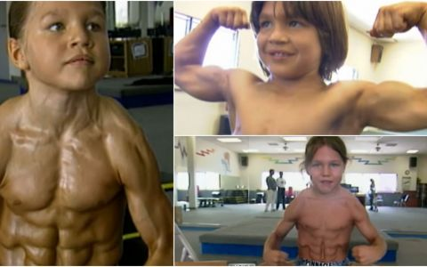 La 8 ani era numit  cel mai puternic baietel din lume  si  Micul Hercule . Cum arata acum, 16 ani mai tarziu