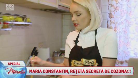 Maria Constantin, reteta secreta de cozonaci