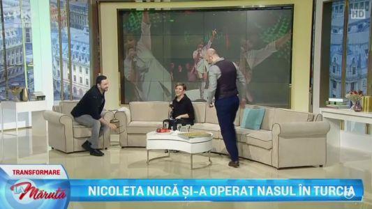 Nicoleta Nuca si-a operat nasul in Turcia