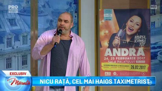 Nicu Rata, cel mai haios taximetrist