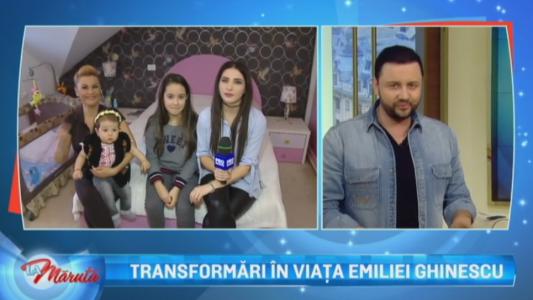 Tranformari in viata Emiliei Ghinescu