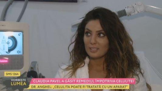 Claudia Pavel a gasit remediul impotriva celulitei