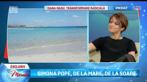 Simona Pope, cofetarul care ne indeamna la dieta