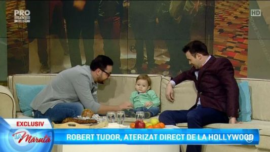Robert Tudor, aterizat direct de la Hollywood