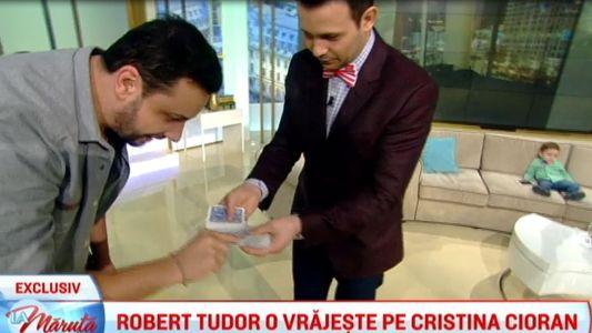 Robert Tudor o vrajeste pe Cristina Cioran