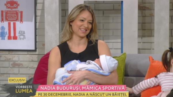 Nadia Budurusi, in forma perfecta la nici o luna de la nastere