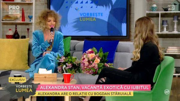 Alexandra Stan, vacanta exotica cu iubitul