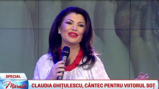 Claudia Ghitulescu, cantec pentru viitorul sot