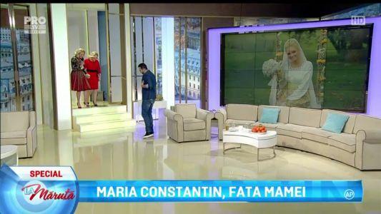 Maria Constantin, fata mamei