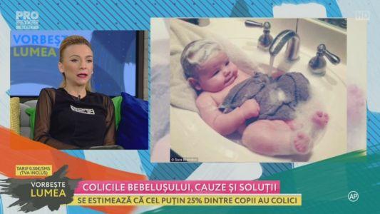 Colicile bebelusului, cauze si solutii