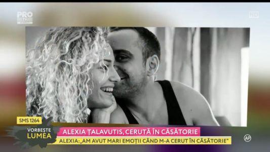 Alexia Talavutis, ceruta in casatorie