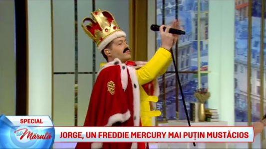 Jorge, un Freddie Mercury reinventat