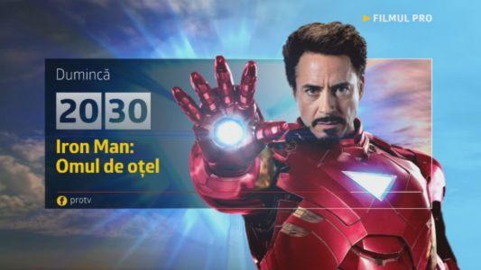 Iron Man: Omul de otel, duminica, 5 februarie, de la 20:30, la ProTV