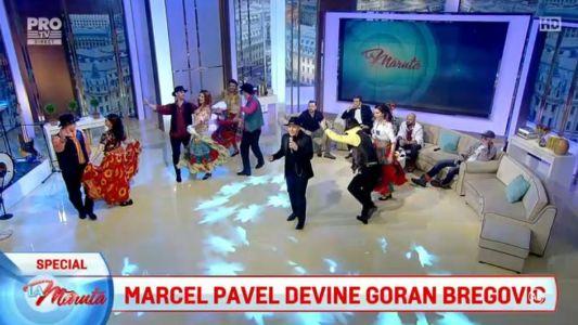 Marcel Pavel devine Goran Bregovic