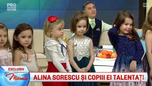 Alina Sorescu si copiii ei talentati