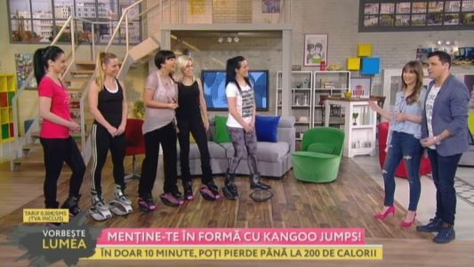 Mentine-te in forma cu Kangoo Jumps!