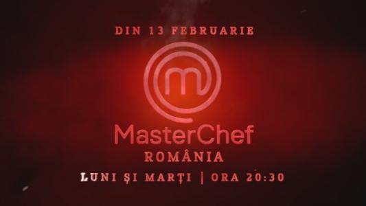 Din 13 februarie prinde gustul competitiei, luni si marti, de la 20:30! MasterChef, numai la Pro TV