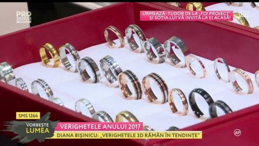 Verighetele anului 2017: ce se poarta in materie de bijuterii