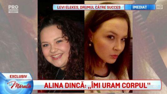 "Alina Dinca: ""Imi uram corpul"""
