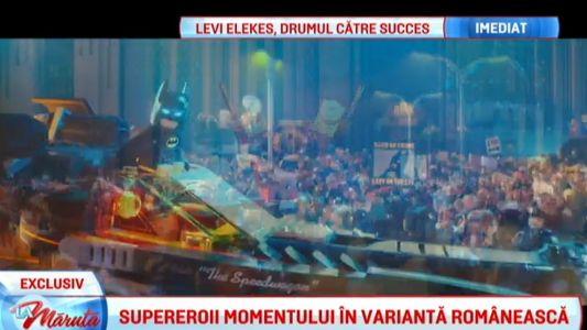 Supereroii momentului in varianta romaneasca