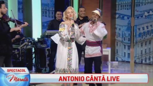 Antonio canta LIVE