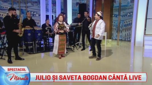 Julio si Saveta canta LIVE