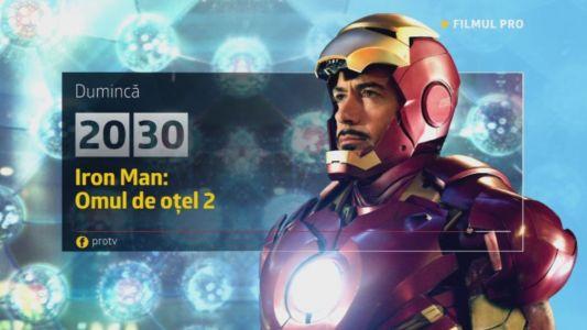 Iron Man - Omul de otel 2, duminica, 12 februarie, de la 20:30, la ProTV