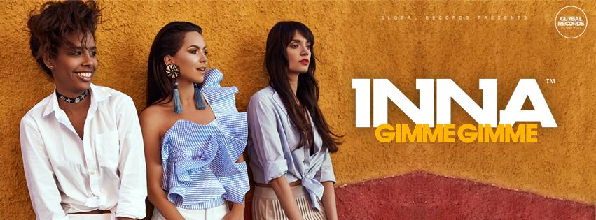 """INNA – 5 milioane de vizualizari pentru """"Gimme Gimme"""", cel mai recent single"""