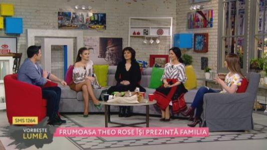 Frumoasa Theo Rose isi prezinta familia